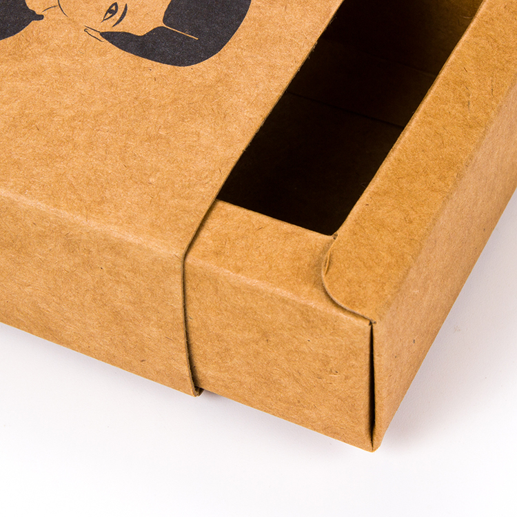Brown Kraft Paper Handmade Soap Packaging Box