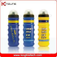 Пластмассовая бутылка воды спорта, пластичная спортивная бутылка, бутылка спортов 750ml (KL-6717)