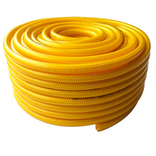 High pressure colorful polyester reinforced pvc braided hose