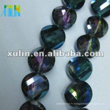 Bijoux à la mode à bas prix pour le nouveau type pendentif en cristal de verre en vrac CP092, la couleur AB aussi nouveau