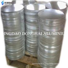 3003 cercle d'aluminium H12