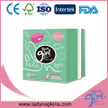 Biodegradable China Bamboo Fiber Panty Liner with Anion Manufacturers