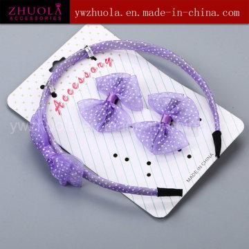 Фиолетовый детский волос ювелирные изделия оптом