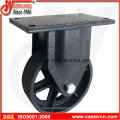 6 Inch to 8 Inch Wastebin Rigid Castor with Iron Wheel