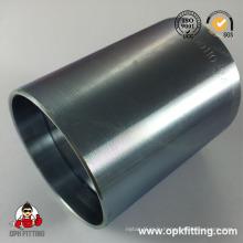 Raccord de tuyau en acier inoxydable à deux fils