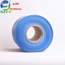 Feibo China factory supplier big size ID 180mm single wall insulated pe 2:1 heat shrink tubing