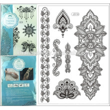 2015 the newest tatoo sticker special design black sexy lace tattoo popular for adult j016