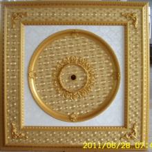 Burgund & Gilt Bracade Dekorative Künstlerische Decke Dl-1114-9