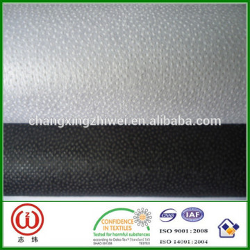 100% Polyester 1050h interlining nonwoven fusing interlining fabric