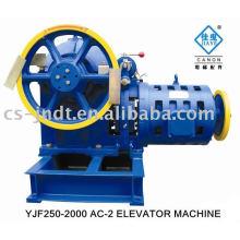 YJF250-2000 AC-2 elevador máquina a Motor