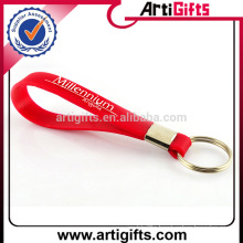 Artigifts promotion cheap eco-friendly soft silicone keyring