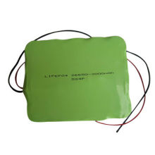 16V 12Ah LiFePO4 Battery for LED Light, Electrical Tools, with CC and CV Charge Method