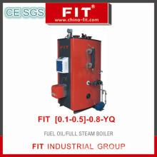 Fuel Oil/Full Steam Boiler (FIT{0.1-0.5}-0.8-YQ)