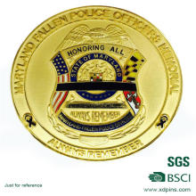 Officers Memorial Souvenir Coins