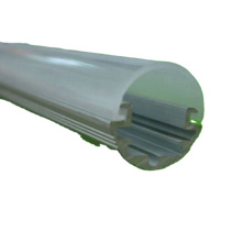 Customized Frosted T5 Led Tube Light Extrusion Housing