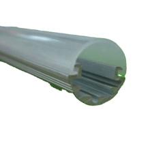 Invólucro de extrusão de luz de tubo led fosco T5 personalizado