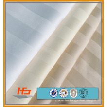 1 cm Sateen Satin Stripe Wholesale Bedding Fabric For Hospital / Hotel