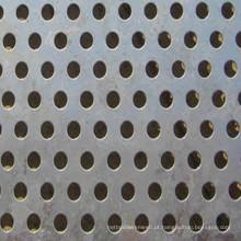 Folha de malha de metal perfurado galvanizado