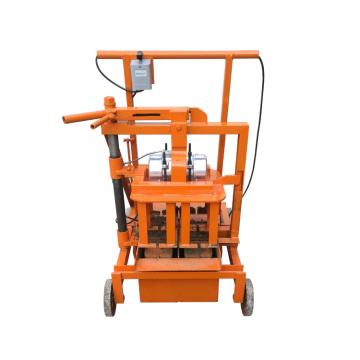 Machine de fabrication de briques de ciment de bâtiment de construction