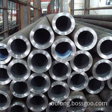 Stainless Steel Pipe, Natural Color