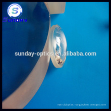 Optical glass plano convex lens AR coating