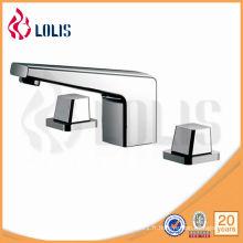 Double robinet de douche en alliage de zinc (61417-100A)