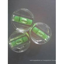 Frasco de nível de bolha de bloco de plástico