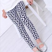 Sommer Casual Style Girl Batik gedruckt Leggings, kleine Mädchen Floral Leggings, Mädchen Leggings Stoff