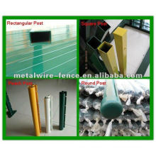 high quality PVC coated steel fence post