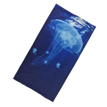 Wholesale 100% polyester face mask custom multifunctional lattice headwear tube bandanas for men