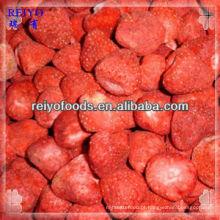 Granel congelado morangos secos