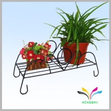 Reasonable price bench type indoor outdoor metal wire flower display shelf