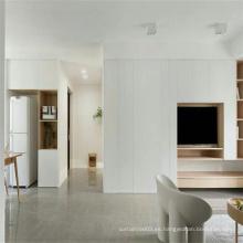 Mueble de televisión en color blanco