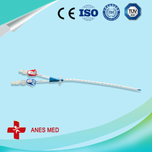 Double lumen Hemodialysis Catheter