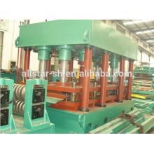 Galvanizado acero Silo rollo formando equipo, silo de acero que hace la máquina