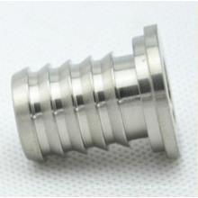 3 Achsen cnc maßgeschneiderte Manufaktur Stahl Schlauch Widerhaken drehen