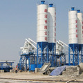 Wet ready mix concrete batching plant HZS 50