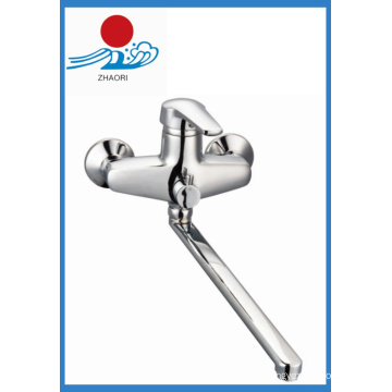 Wand-Mischbatterie Messing Wasser Wasserhahn (ZR21903)