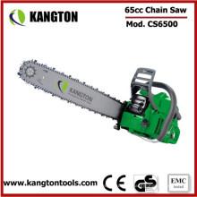 Sierra de cadena de la gasolina de 65cc GS para el trabajo de madera (KTG-CS1636-365)