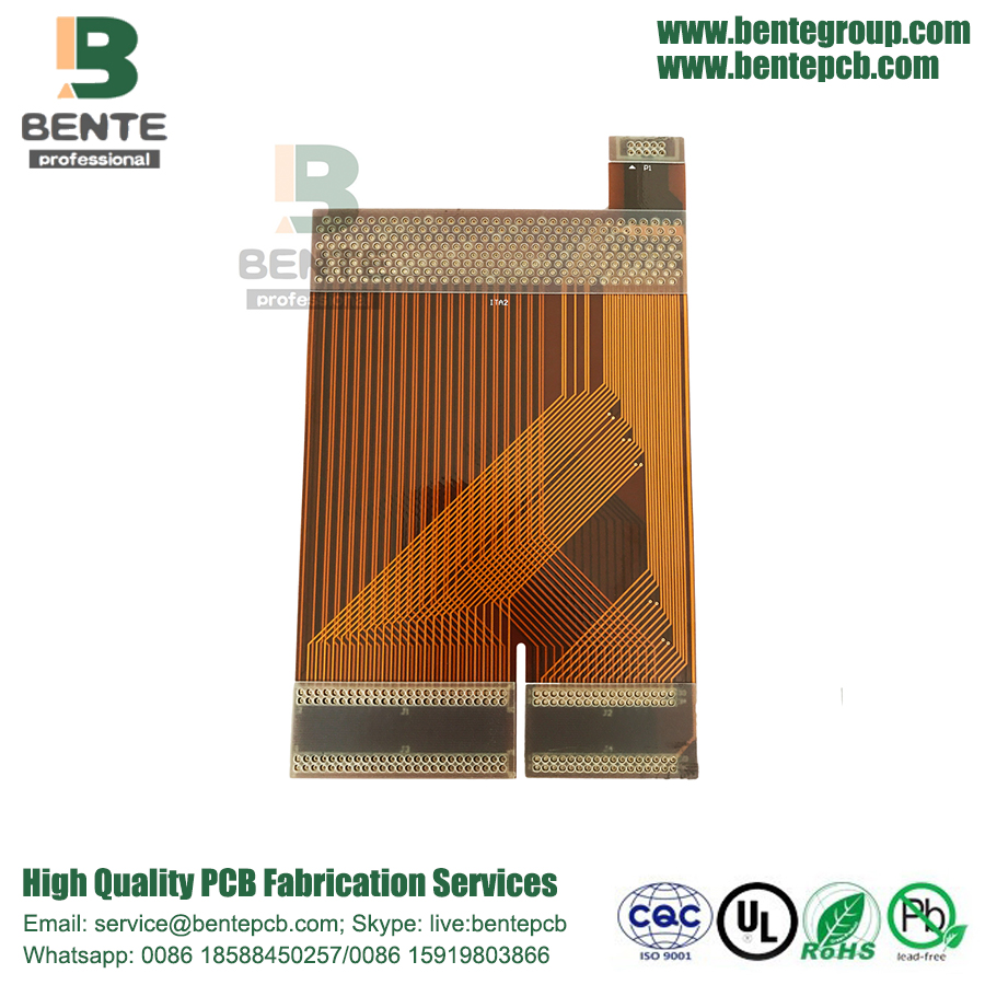 Flex Board Polyimide With FR-4 Stiffener High-precision