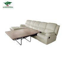 Low MOQ Electric Recliner Sofa Home Theater 4 Seats Modern Sofa Bed