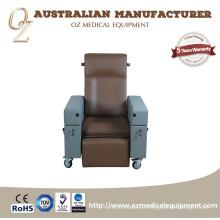 Großhandelslehnstuhl-Pflegeheim-Stuhl-Brown-älterer Stuhl
