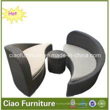 Chaise longue de 2016 de chaise de meubles de rotin de Pation (CF726L)