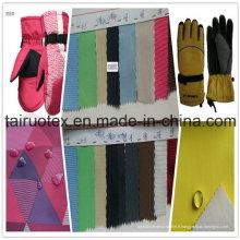 100% Polyester Taslon avec imperméable pour les vêtements de gants