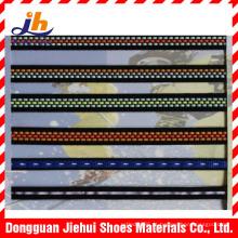 Fábrica venda direta 1mm cor prata único lado fio reflexivo