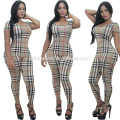 2016 european women fashion jumpsuits sexy lady stripe summer playsuit dress women casual