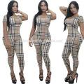 2016 mulheres europeias moda macacões sexy lady stripe verão playsuit dress mulheres casuais