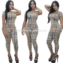 2016 mujeres europeas jumpsuits sexy señora raya summer playsuit dress mujeres ocasionales