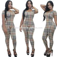 2016 european women fashion jumpsuits sexy lady stripe summer playsuit dress women casual