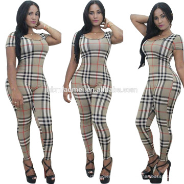 2016 femmes européennes mode jumpsuit sexy lady stripe summer playsuit robe femmes casual